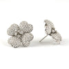 Pavé Diamond Four Leaf Clover Earrings - Westmount, Montreal, Quebec