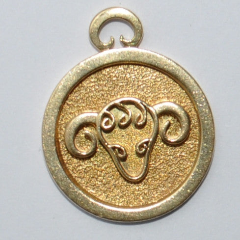 George DELRUE 18k Aries Zodiak Charm