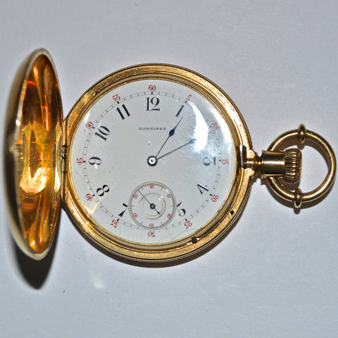 Antique 18K Longines Pocket Watch - Westmount, Montreal, Quebec