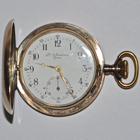 Antique 14K Louis Audemars Pocket Watch - Westmount, Montreal, Quebec