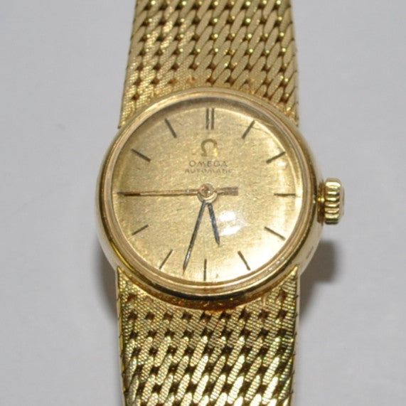 18K Gold Ladies Omega Wristwatch - Westmount, Montreal, Quebec