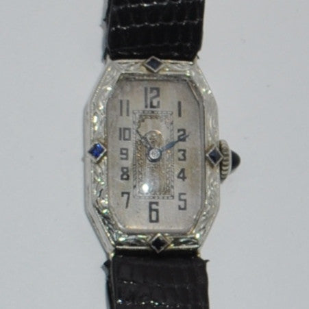 IOCO Art Deco Ladies Watch 18k