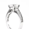 2.17 ct. Solitaire Diamond Ring in Platinum - Westmount, Montreal, Quebec