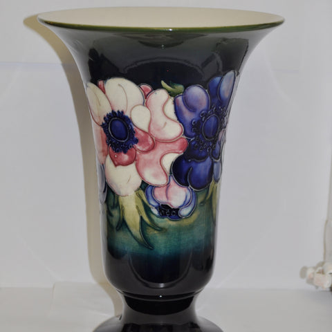 William Moorcroft Vase c. 1920 with Anemone Pattern