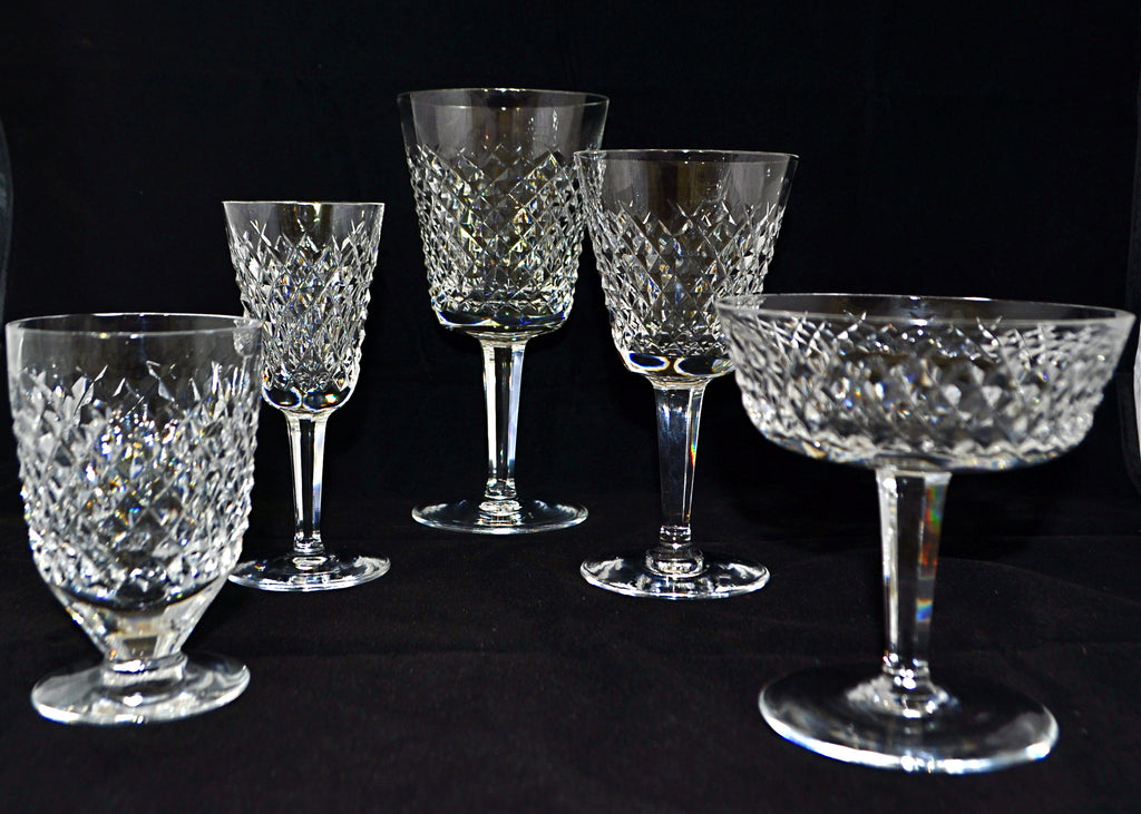 Waterford Templemore Crystal stemware service for twelve