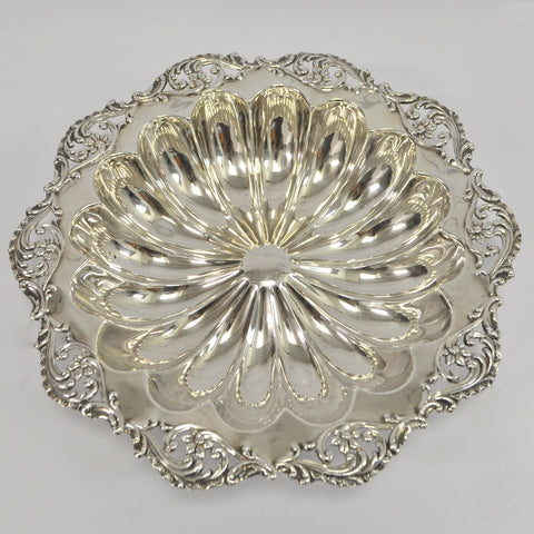 Ornate Sterling Silver Bowl - Westmount, Montreal - Daisy Exclusive