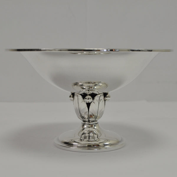 Danish Sterling Silver Compote Dish