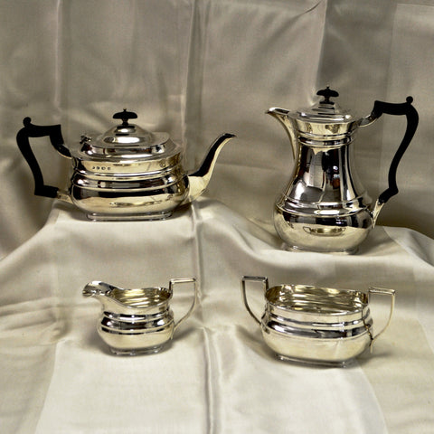 4 piece Sheffield Tea Set c. 1919 - Westmount, Montreal - Sterling