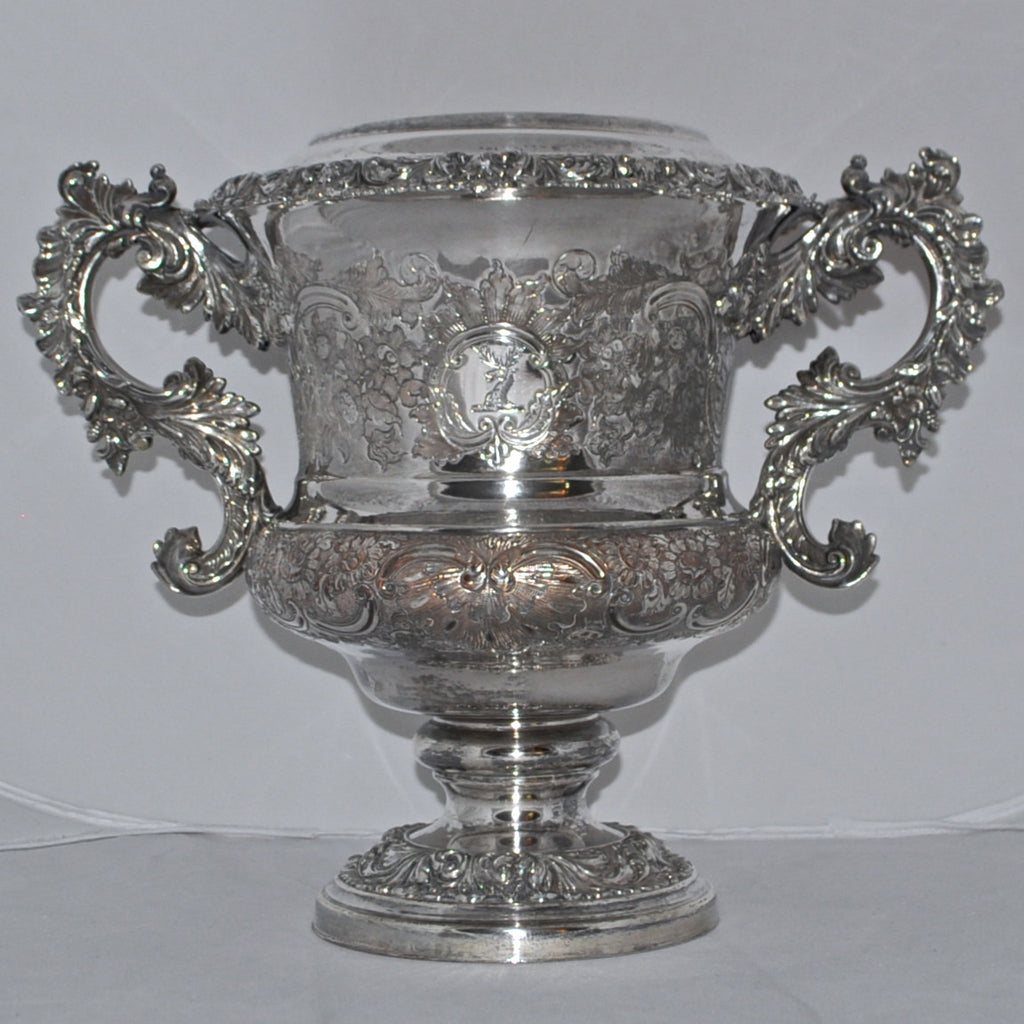 Antique Silver Plated Wine Cooler