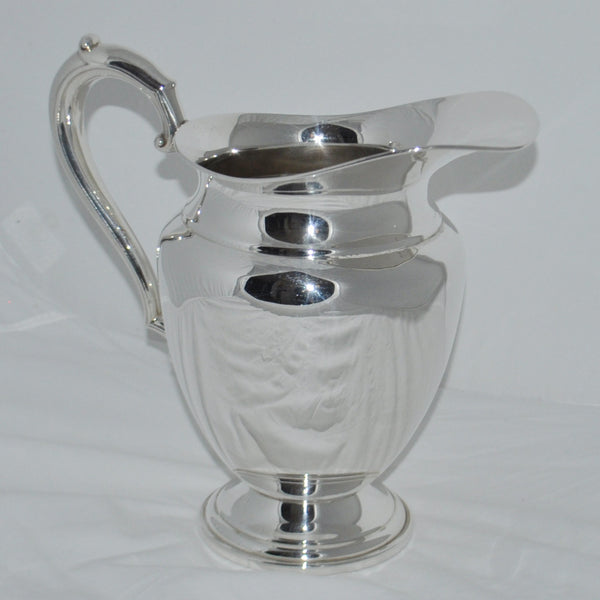 Frank M. Whiting Sterling Silver Water Jug - Westmount, Montreal - Daisy Exclusive