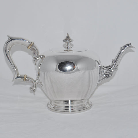 Birks Sterling Silver Tea Pot c.1971 - Westmount, Montreal - Daisy Exclusive