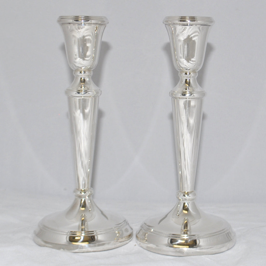 Vintage Sterling Silver Candlesticks, Birmingham England c.1934 - Westmount, Montreal - Daisy Exclusive
