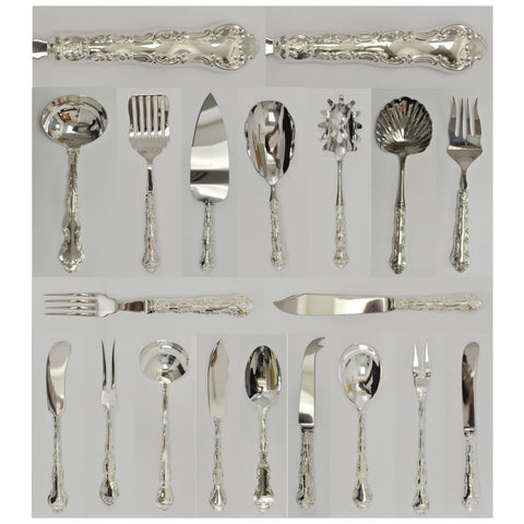 Birks Louis de France pattern silverware