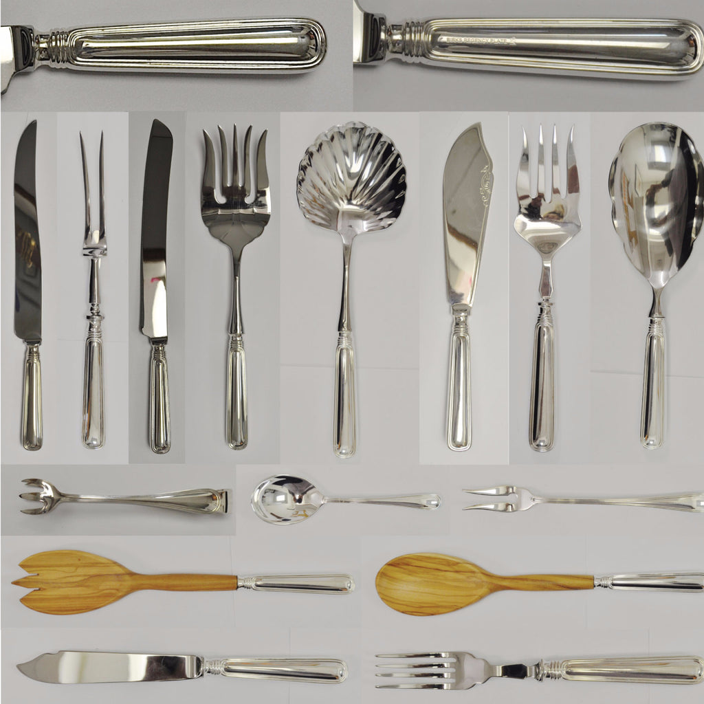 Birks York pattern silverware