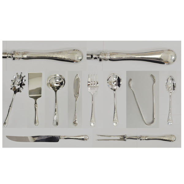 Birks Queen Mary pattern silverware