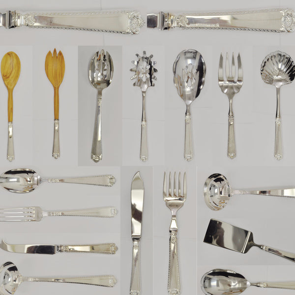 Birks Windsor Straight Handle pattern silverware