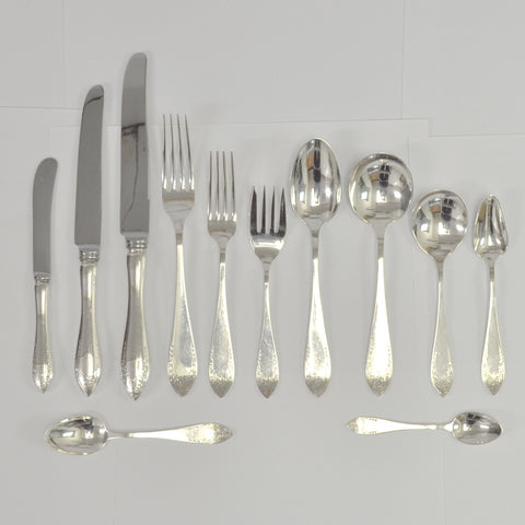 Henry Birks and Sons Tudor Royal silverware - Westmount, Montreal - Daisy Exclusive