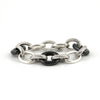 David Yurman Vintage - Oval Link Bracelet with Black Ceramic - Westmount, Montreal