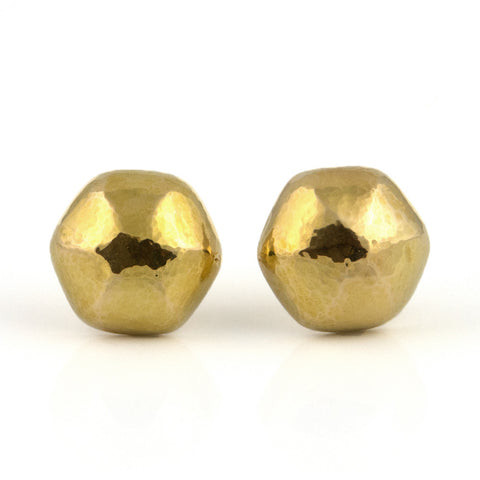 Walter Schluep Hex Gold Earrings - Westmount, Montreal