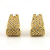 Vintage Italian Two Toned Wrap-around Cufflinks - Westmount, Montreal