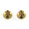 Vintage Tourmaline & Diamond Earrings 18K - Westmount, Montreal, Quebec