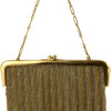 French Antique 18k Gold Mesh Coin Purse - Westmount, Montreal