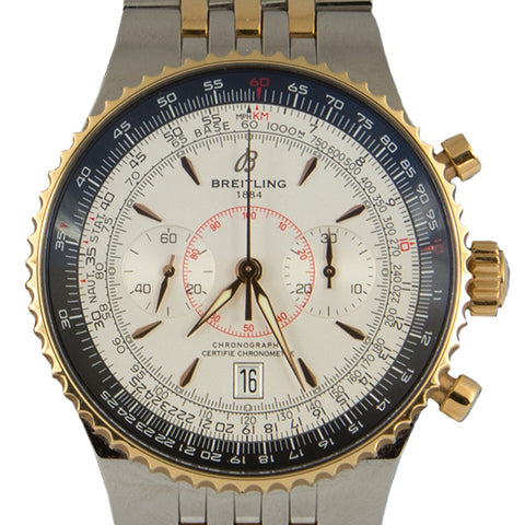 BREITLING Montbrillant Legende Two Tone - Montreal estate jeweller