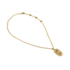 Vintage BULGARI 18K Gold Pendant and Chain Necklace - Jewelry Montreal