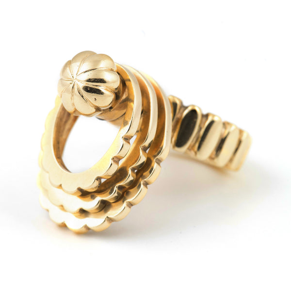 Retro Gold Spinning Ring - Westmount, Montreal