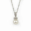18K South Sea Pearl & Diamond Pendant - Westmount, Montreal, Quebec