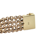 Vintage 9K Yellow Gold Mesh Link Bracelet + Montreal Estate Jewelers