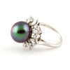 Tahitian Pearl and Diamond ring - Westmount, Montreal