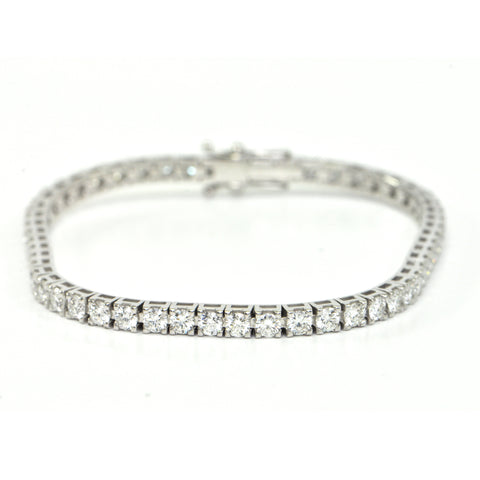5.59 ct Diamond Tennis Bracelet VVS, D-E-F - montreal jewellery design