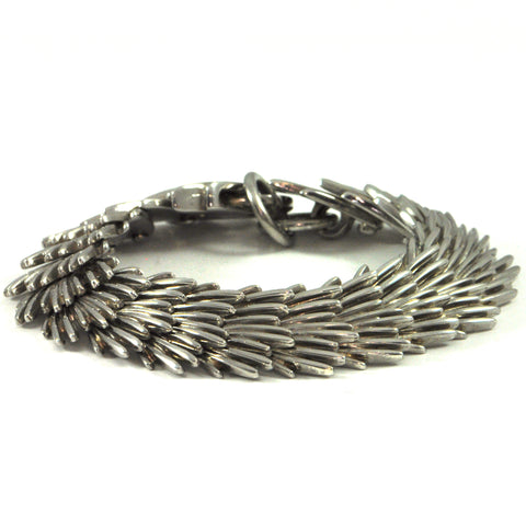 Vintage Christofle Palmaceae Sterling Bracelet + Estate Jewelers