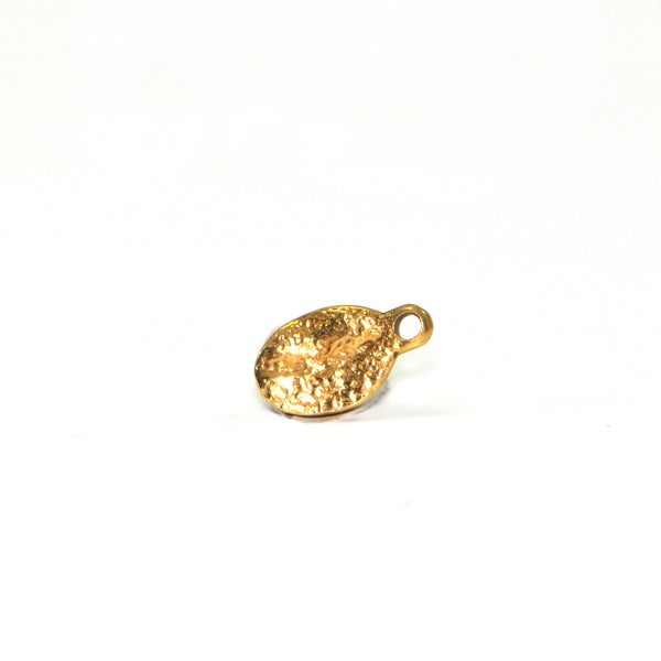 Vintage 14K Yellow Gold Coffee Bean Charm + Montreal Estate Jewelers