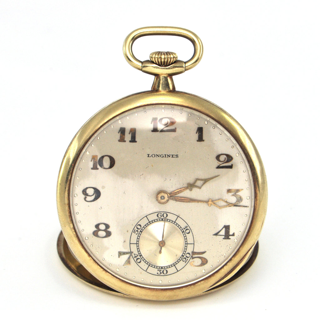 Vintage 14K Longines Pocket Watch