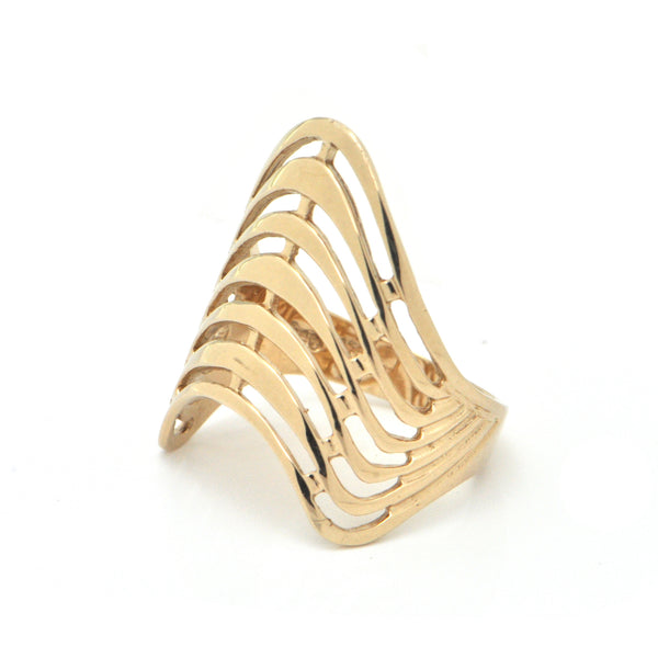 Vintage 9K Yellow Gold Ring