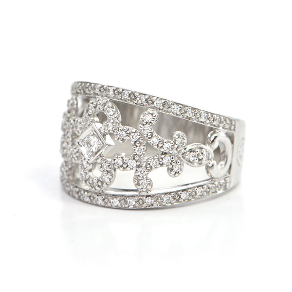 0.43 CT diamond Charriol Cocktail ring