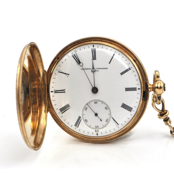 Vintage Vacheron & Constantine 18K and 14K Yellow Gold Pocket Watch C.1855 + Montreal Estate Jewelers
