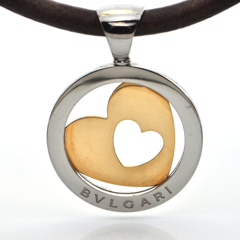 Bvlgari Tondo Heart Necklace