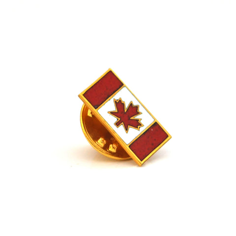 Canadian Flag Gold pin - Daisy Exclusive - Montreal Westmount