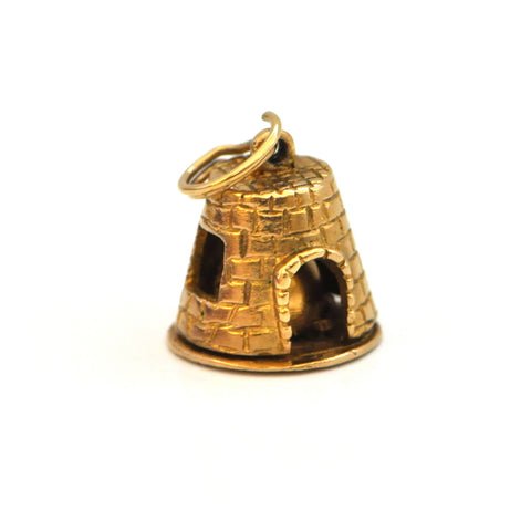 Brick Oven Gold Charm - Daisy Exclusive - Montreal Westmount