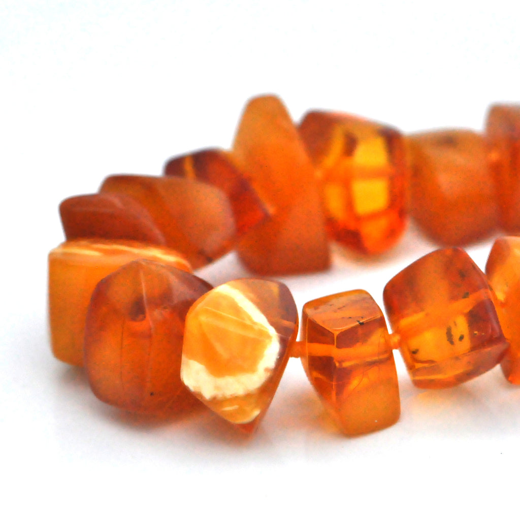 Vintage Baltic Amber Necklace (28'')