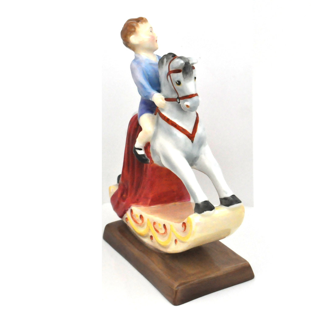 Royal Doulton The Rocking Horse HN2072 - Daisy Exclusive - Montreal Westmount