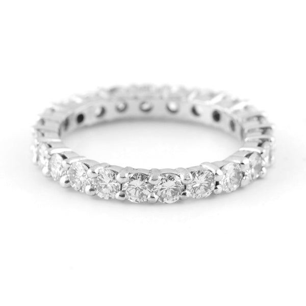 Diamond eternity band 18k - Westmount, Montreal