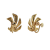 Retro14K Yellow Gold Earrings