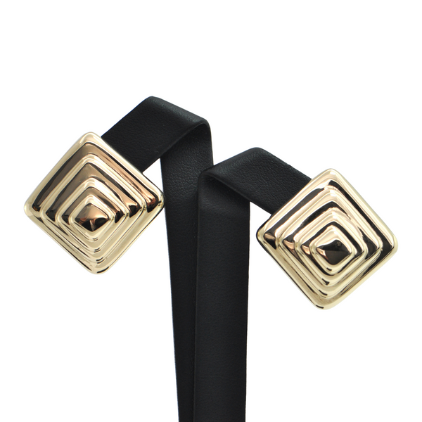 Vintage 14K Yellow Gold Earrings + Montreal Estate Jewelers