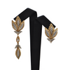 Vintage 'Birks' Diamond 2-Toned 18K Gold Earring with Removable Enhancer + Montreal Estate Jewelers