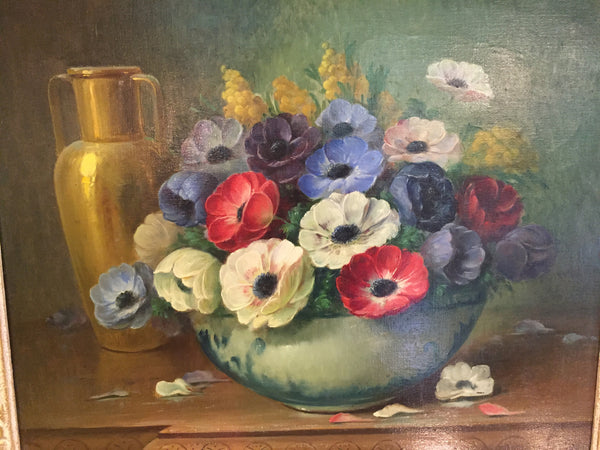Jan Bulas - Oil painting - Westmount, Montreal - Daisy Exclusive