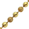 Vintage 22K Yellow Gold Ball Bead Necklace
